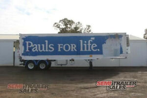 05/1999 FTE 18 Pallet Refrigerated Pantech Semi Trailer - SN# 150729 Lockwood Bendigo City Preview