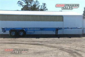 12/1998 Barker 40FT Skel Semi Trailer with 4 Way Pins - SN# 160738 Lockwood Bendigo City Preview