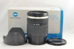 Minolta 28-75mm D 2.8 lens
