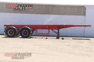 03/1994 Krueger 30FT Skel Semi Trailer with Container Pins - SN# 180107 Lockwood Bendigo City Preview