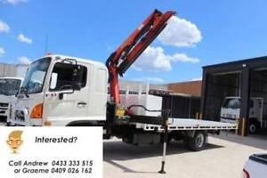2010 Hino 500 Series 1024 FD Crane Truck Port Melbourne Port Phillip Preview