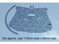 New Tattered Lace Handbag Die Designed by Stephanie Weightman