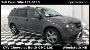 2017 Dodge Journey Crossroad AWD 7 Passenger with Heated Leather