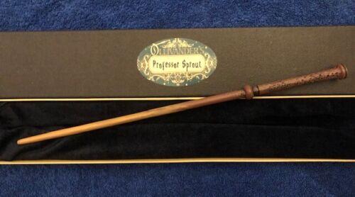 "Professor Pomona Sprout Wand 13.5"", Harry Potter Wizarding World, Hogwarts Witch"