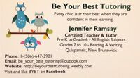Be Your Best Tutoring