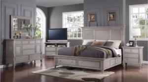 SOLID WOOD BED SET SALE (GL42)