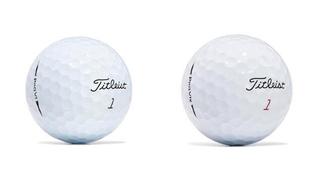2017 pro v1 pro v1x golf balls