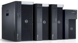 DELL T1700/T5500/T7500/T7600 // HP Z230/Z400/Z420/Z800/Z620/Z820