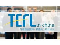 Free TEFL Certificate and Top Jobs in China