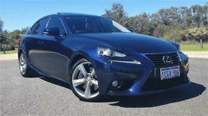 2013 Lexus IS350 GSE31R Sports Luxury Blue 8 Speed Automatic Sedan