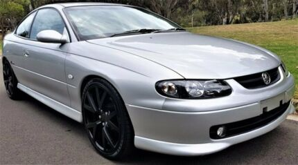 2002 Holden Monaro V2 Series II CV8 Silver 4 Speed Automatic Coupe Medindie Walkerville Area Preview