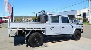 2011 Land Rover Defender 130 11MY Crew Cab Silver 6 Speed Manual Cab Chassis