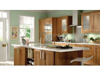 Walnut shaker kitchen Any 10 units - base or wall Plus accessories No appliances inc *** take a 👀