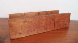 Vintage CANADIAN TIRE Miter Box WOOD Antique