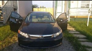 BRAND NEW HONDA CIVIC 2012