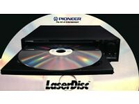 VHS Betamax videos laserdisc vcd wanted CASH PAID free collection
