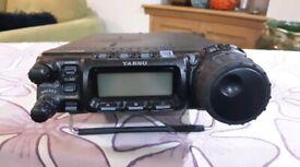 YAESU FT857D HF/VHF/UHF Transceiver