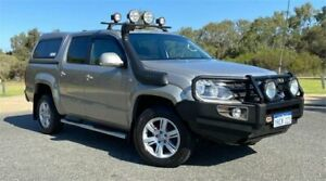 2015 Volkswagen Amarok 2H MY15 TDI420 (4x4) Brown 8 Speed Automatic Cab Chassis Cannington Canning Area Preview