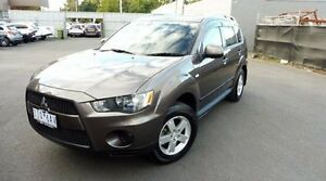 2009 Mitsubishi Outlander ZH MY10 LS Bronze 6 Speed Constant Variable Wagon Lilydale Yarra Ranges Preview