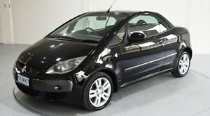 2007 Mitsubishi Colt Turbo Black 5 Speed Manual Cabriolet Invermay Launceston Area Preview
