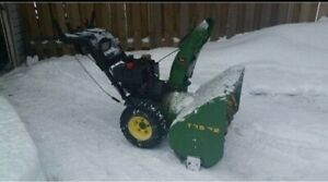 Repair tuning selling snowblowers- free delivery