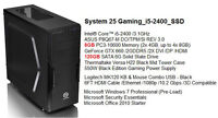 Brand New Intel i5 High Level Gaming Tower /8G DDR3 /SSD /GTX660