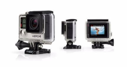 GOPRO HERO4 SILVER + Head strap, handler and float for water Parkinson Brisbane South West Preview