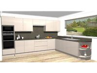 New Kitchen Units and Worktops
