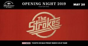 2 tickets to the  Strokes at Budweiser Stage - below face value