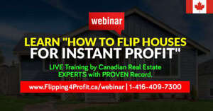FREE Canadian Real Estate Webinar for Gander Investors