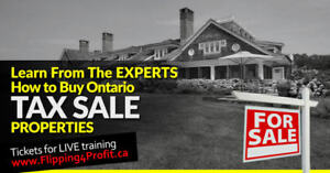 Ontario Tax Sale properties City of Kingston