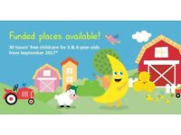 Nursery places available at Banana Moon Davyhulme