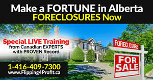 High value foreclosure seminar for Banff/Canmore Investors