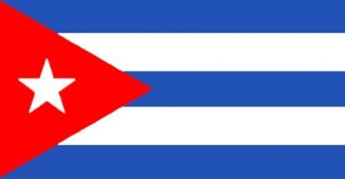 "CUBA FLAG 18"" X 12"" for boats treehouses caravans boat caravan flags CUBAN FLAGS"