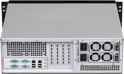 "3U LCD 15""(18""Rail)8 Bay(Rackmount Chassis)(Take RedundantPSU)(ATX/ITX Case)NEW"