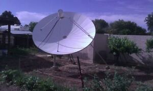 ISO Big Old Satellite Dishes