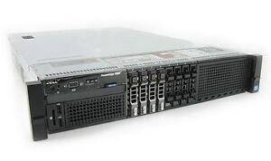 Dell R820 Server , 2 X OCTA Core E5-4650 , 512Gb RAM , H310 , 4 X 300Gb 10K SAS , 2PSU