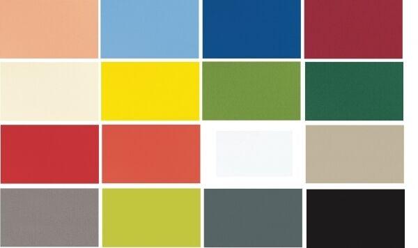 Mitteldecke Dunicel - 84 x 84 cm - 1 Stück - verschiedene Farben