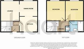 2 bedroom maisonette