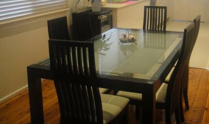 DINNER TABLE , PLUS 6 CHAIRS AND BUY ONE GET ONE FREE South Hurstville Kogarah Area Preview