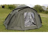 Fox Continental Classic 2 Man Easy Dome Bivvy CUM163 Plus CUM164 HEAVY DUTY GROUNDSHEET