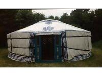 6 Meter Mongolian yurt