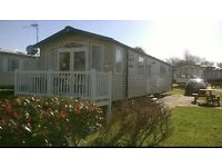 Marton mere 3 bedroom prestige with decking caravan