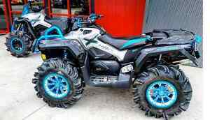 NO LIMIT WHEELS IN CAN AM COLOURS AT ATV TIRE RACK Kingston Kingston Area image 1