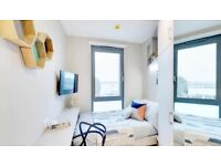 2 month short term let with 1 week for free! Double room in an apartment complex with gym & spa!
