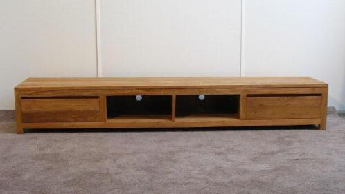 Tv Meubel Teakhout : ≥ scherp geprijsd teak tv meubel cm breed indoteak kasten