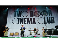 4 x Two Door Cinema Club Tickets Barrowlands Sat 4th Feb.
