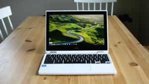 Chromebook Touchscreen Acer r11, 32 gb et 4 gb de RAM