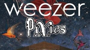 Weezer & Pixies -Bud Stage-Sat July/14-Section 203