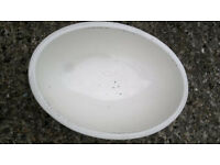 boat, caravan / oral sink bowl